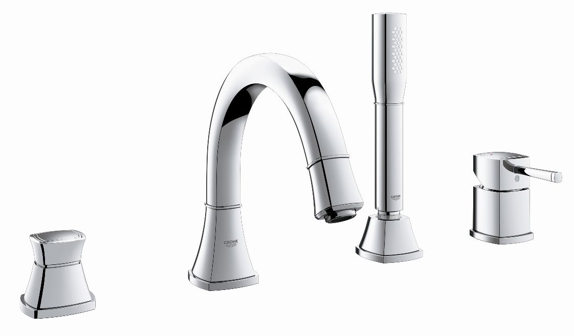 sink faucets for bathroom grohe grandera 23303 000 20389